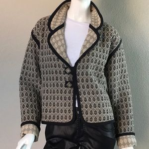 Jackets & Blazers - Vintage Reversible Cool Chic Jacket.